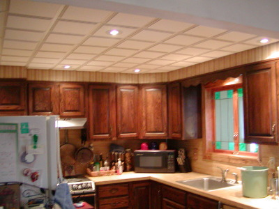 Great Kitchen With Drop Ceiling